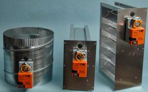 Hvac Manual Damper Control Gear Operated Handle Lever