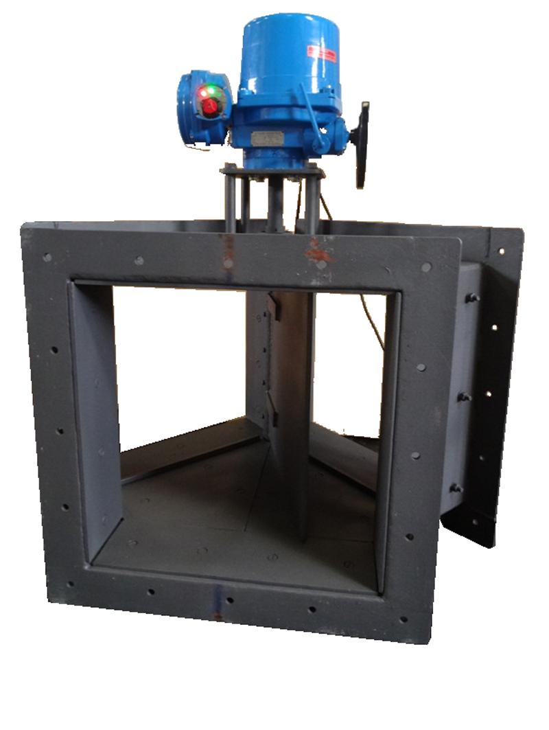 Diverter Damper Manufacturer Diverting Damper Actuator