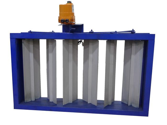 Multi Louver air Damper Manufacturer, HVAC Damper Valve