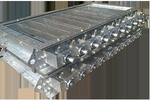 Multi louver air damper manufacturer hvac damper valve for Motorized outside air damper